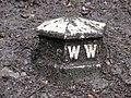 Mystery Cast Iron Marker - geograph.org.uk - 1401007.jpg