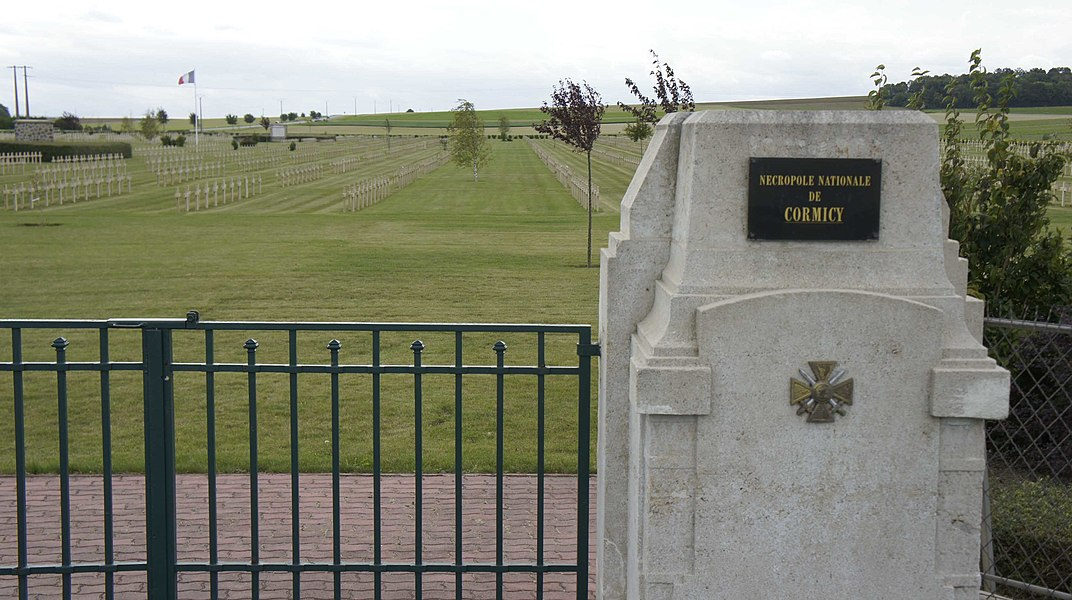 Nécropole nationale Cormicy.