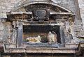 Nínxol amb escultures d'anyell i àguila, sant Joan del Mercat de València.JPG