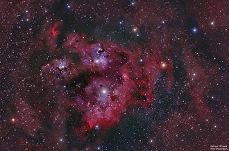 """NGC 7822 - Amateur RGB image taken with a DSLR and 5"""" apochromatic refractor"""
