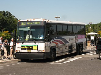 NJ Transit bus fleet - Image: NJT MCI D4000