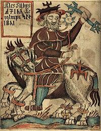 NKS 1867 4to, 97v, Odin on Sleipnir.jpg