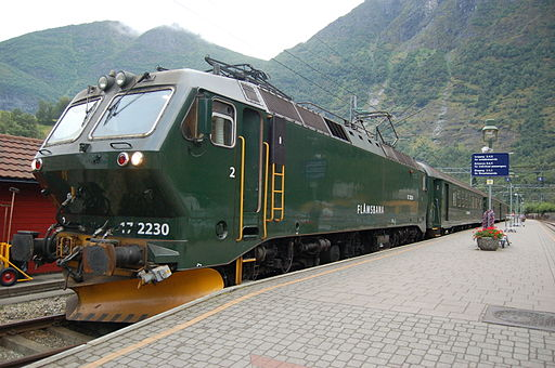 NSB El 17 at Flåm