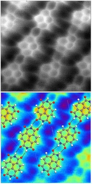 Hydrogen bond - Image: NTCDI AFM2a