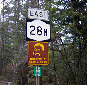 New York State Route 28N - Image: NY 28N Roosevelt edited