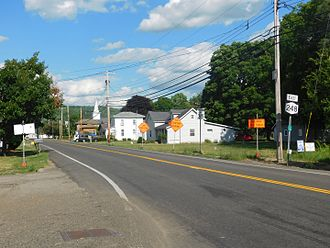 New York State Route 248 - NY 248 in Stannards