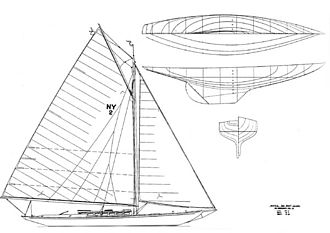 Nathanael Greene Herreshoff - New York 30 class design