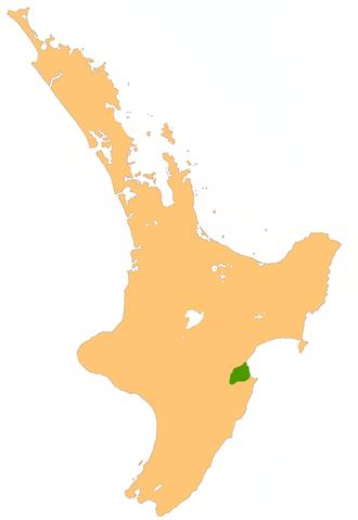 Heretaunga Plains - Location of the Heretaunga Plains