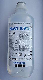 Saline (medicine) saline water for medical purposes, including both normal saline (isotonic saline solution) and hypertonic saline solution