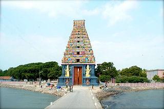 Nainativu Island in Sri Lanka