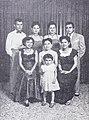 Nana Mayo (and husband Kurwet), Sukarsih, Djuriah Karno (and child), Film Varia Nov 1953 p11.jpg