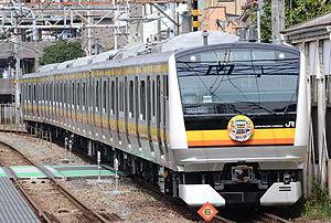 Nambu Line - A Nambu Line E233-8000 series EMU in October 2014