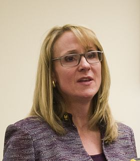 Nancy Hogshead-Makar at National Girls and Women in Sports Day briefing 2012 cropped.jpg