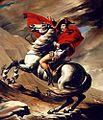 Napoleon crossing the Alps modern reproduction.jpg