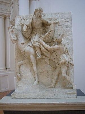 Pietro Bernini - Image: Napoli s Martino Pietro Bernini Carità di s Martino 1050007