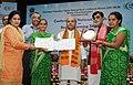 Narendra Singh Tomar conferring the National Awards on the Best Performing Self Help Groups under Deendayal Antayodaya Yojana - National Rural Livelihood Mission (DAY- NRLM), in New Delhi (4).JPG