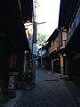 Narrow road in Arima Hot Spring.jpg