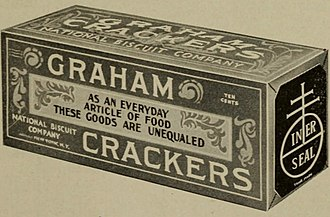 Graham cracker - Image: National Biscuit Company graham crackers, 1915