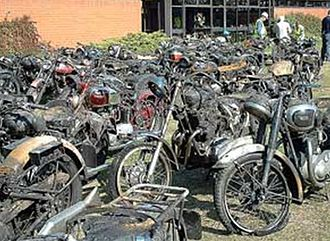 National Motorcycle Museum (UK) - Aftermath of the fire