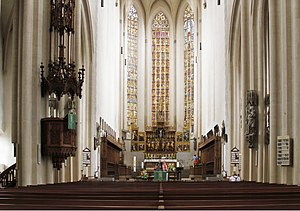 St. James's Church, Rothenburg ob der Tauber - The nave