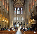 Nave of Notre-Dame de Paris, 22 June 2014 001.jpg