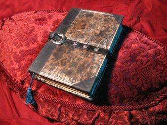 Necronomicon - A fan-created prop representing the Necronomicon (2004)
