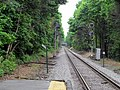 Needham Line signals at east end of Bellevue station, May 2012.JPG