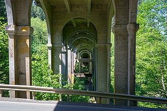 Oregon Route 103 - Image: Nehalem River Bridge 1