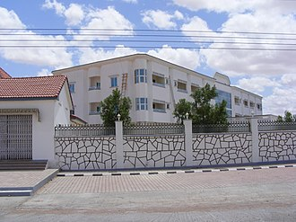 Garoowe - A residential area in Garowe.
