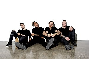 Neon Dreams - Neon Dreams band members, from left to right: Matt Gats, Frank Kadillac, Adrian Morris,  and Corey LeRue.