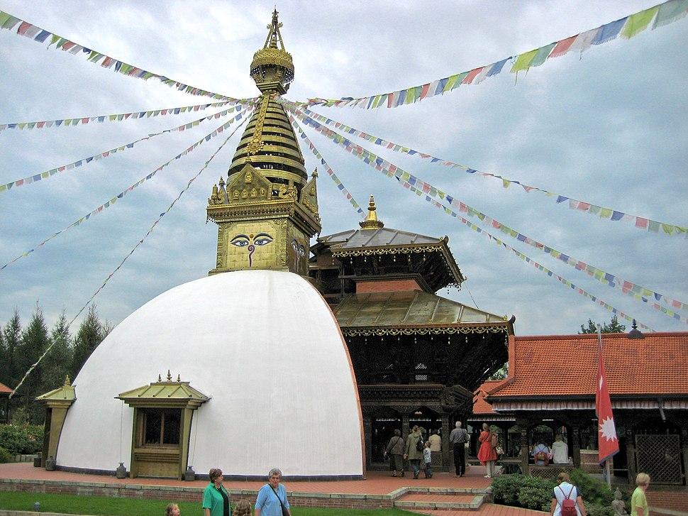 Nepal Himalaya Pavillon Wiesent 14