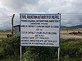 Nepal Pokhara International Airport Construction Site.jpg