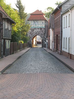 Neustadt/Harz - Image: Neustadt Altes Tor