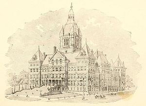 115th New York State Legislature - Image: New York State Capitol 1892