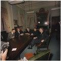 New President Lyndon B. Johnson meets with National Security advisors - NARA - 192481.tif
