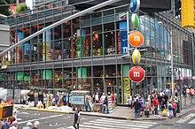 mms world location in new york city