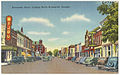 Newcastle Street, looking north, Brunswick, Georgia (8368110798).jpg