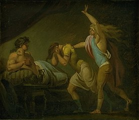 Two Young Men Confessing to Alexander the Great their Conspiracy against Him