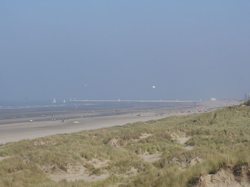 File:Nieuwpoort - Beach and pier.jpg