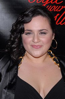 Nikki Blonsky American actress and singer