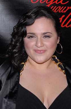 Den 29-år gammal, 147 cm lång Nikki Blonsky in 2018 photo