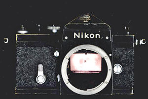 Nikon F-mount - The Nikon F of 1959 embodies the original F-mount.