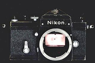 Nikon F-mount lens mount