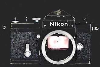 Nikon F-mount - The Nikon F of 1959 embodies the original F-mount.