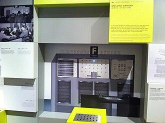 Nimrod (computer) - Nimrod museum exhibit at the Computerspielemuseum Berlin