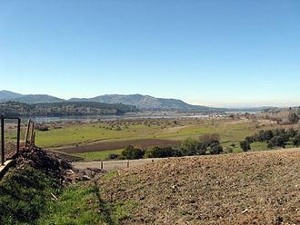 Ñuble Region - View of Itata River