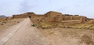 Nisa, Turkmenistan - Entrance to Nisa