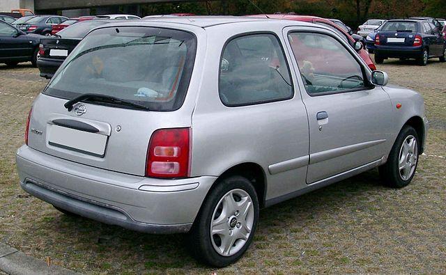 Nissan Micra rear 20081017