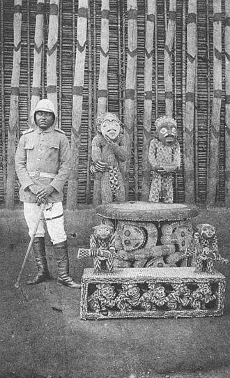 Ibrahim Njoya - The throne of King Njoya