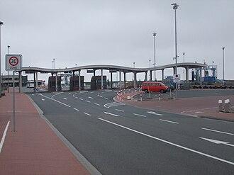Norddeich (Norden) - Ferry port of Norddeich (2010)